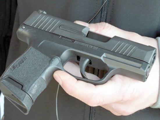 P365 אקדח קרסול  / צילום: באדיבות החברות
