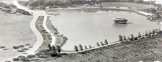 האגם בפארק הלאומי ברמת גן/ צילום: עריית רמת גן