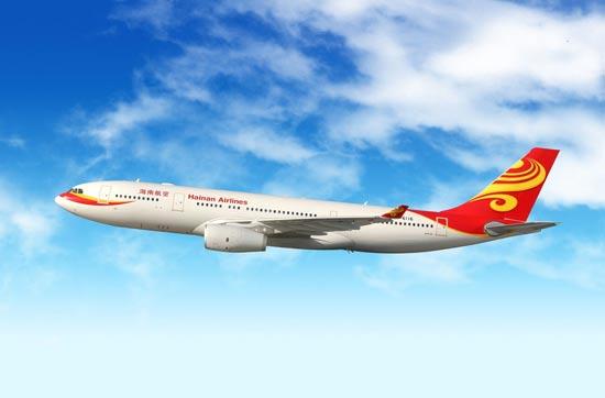 """מטוס היינאן איירליינס / צילום: יח""""צ"""