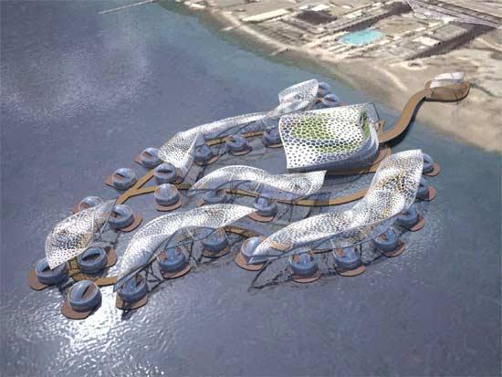 הדמיה של המלון תת-ימי באילת / הדמיות: קבוצת אלון