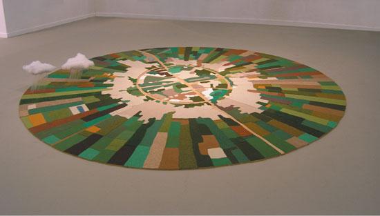נהלל מעונן חלקית (2005) / עבודתו של גל ויינשטיין