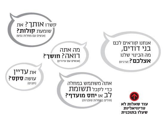 השאלות של הישראלים