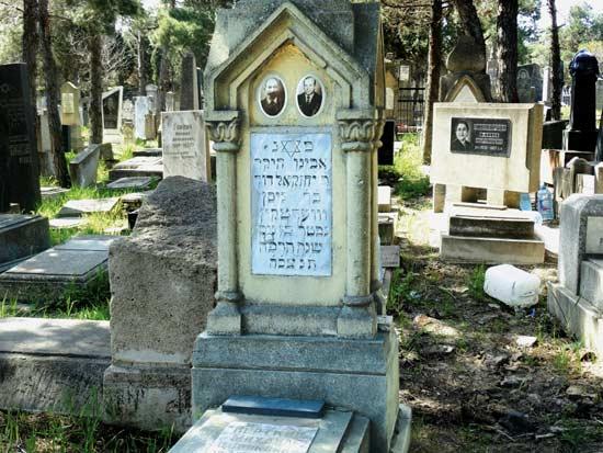בית הקברות היהודי / צילום: אינגה מיכאלי