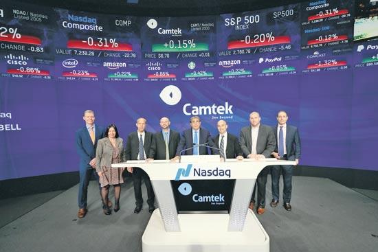רפי עמית  קמטק / צילום: Nasdaq Stock Market