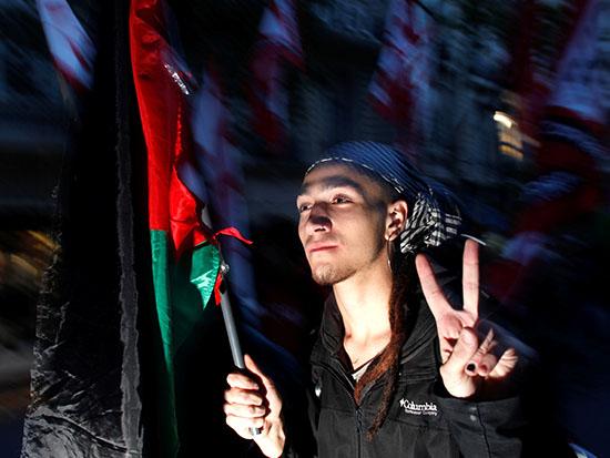 הפגנה פלסטינית בבואנוס איירס / צילום: רויטרס - Martin Acosta
