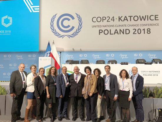 משלחת ישראל לוועידה / צילום: המשרד להגנת הסביבה