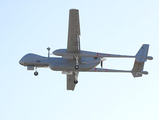 """המל""""ט הרון / צילום: תעשייה האווירית"""