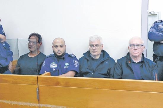 חלק מהחשודים / צילום: אמיר מאירי