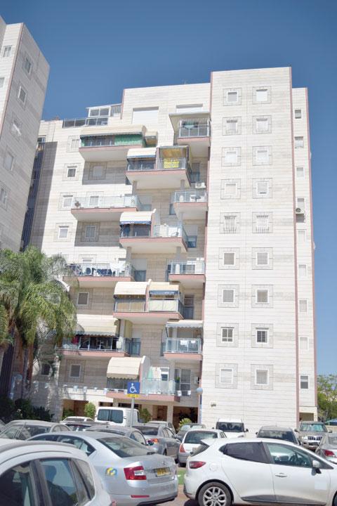 רחוב יעל קרית גת / צילום: בראל