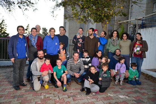 חברי הקיבוץ העירוני בנצרת עילית/ צילום: תמרמצפי