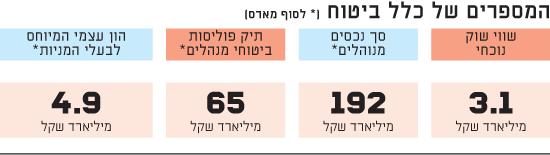 המספרים של כלל ביטוח