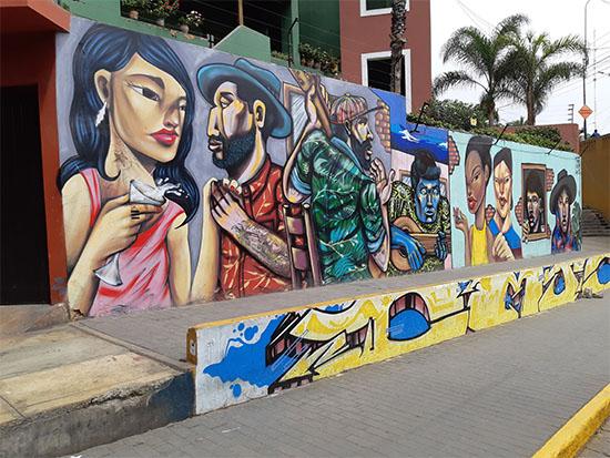 אמנות רחוב בלימה / צילום: רוני ערן