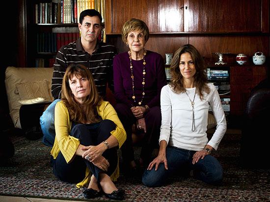 משפחת הורביץ / צילום: טל שחר - ידיעות אחרונות