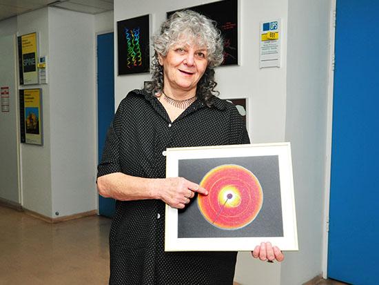 יונת עדה זוכת פרס נובל לכימיה בשנת 2009 / צילום: תמר מצפי