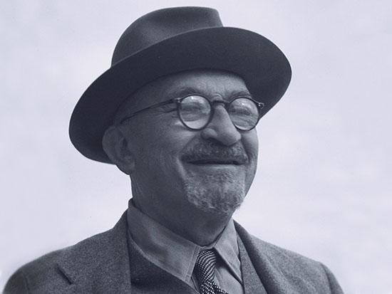 """חיים ויצמן / צילום: לע""""מ - הוגו מנדלסון"""