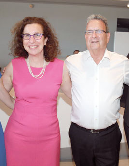 מאיר ברון וענת לוין/ צילום: איציק בירן
