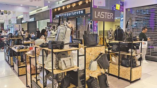 חנות פופ-אפ של לאסטר במתחם שרונים/ צילום:יחצ