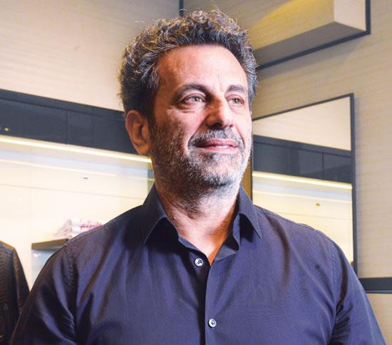רוני אירני, בעלי קבוצת האופנה אירני קורפ/ צילום: תמר מצפי