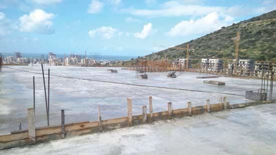 """מלון קדם בבניה בחיפה / צילום:יח""""צ"""