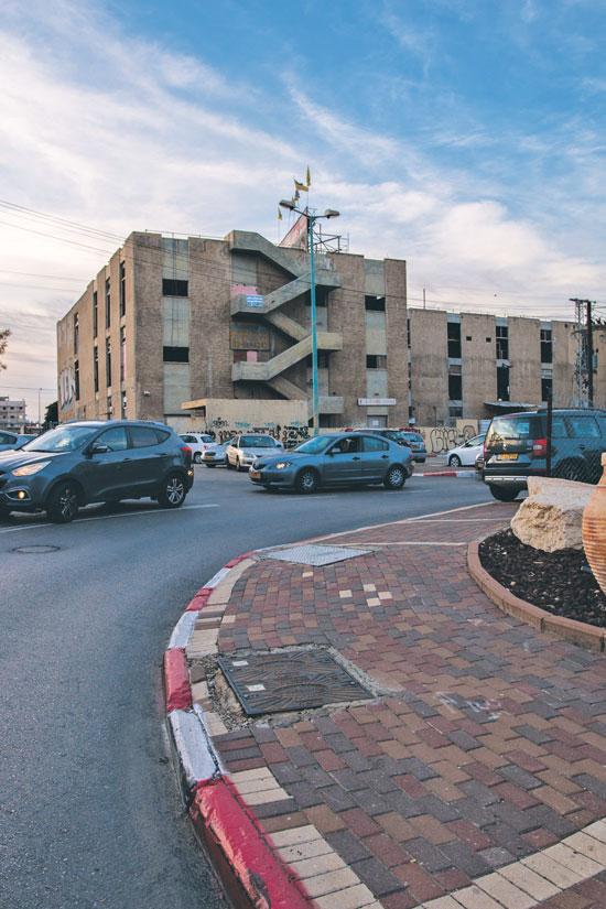 בנין אמפא/ צילום: כדיה לוי