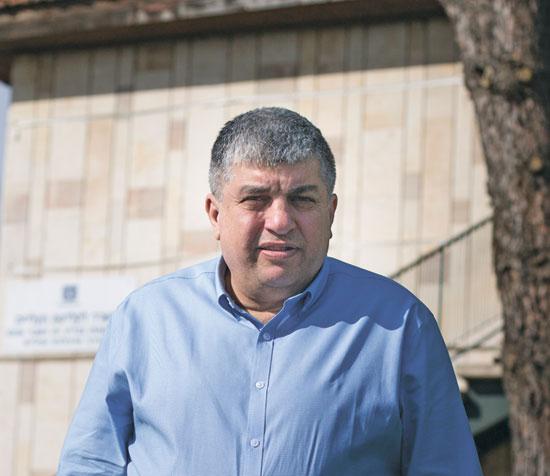 ראש מועצת מבשרת ציון יורם שמעון/ צילום: ליאור מזרחי