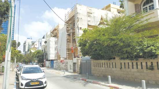 הבית של פטריק דרהי ביהודה הלוי 8 / צילום: גיא נרדי