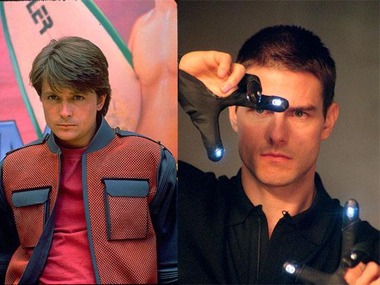"""""""דוח מיוחד"""" , """"בחזרה לעתיד 2""""  / צילומים: באדיבות (yes (Dream Works,Universal City Studios"""