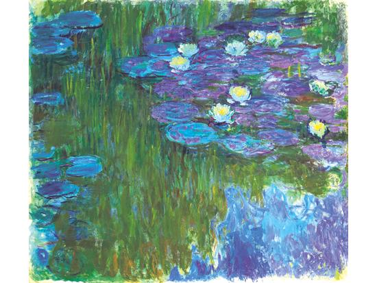 היצירה: Nympheas en fleur האמן: קלוד מונה  / צילום באדיבות: Christies images LTD