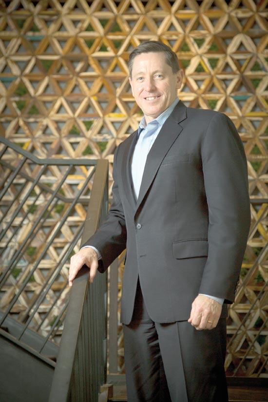 """מארק מקלפלן, מנכ""""ל פאלו אלטו / צילום: אלון רון"""