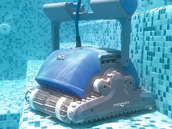 "רובוט הניקוי הישראלי ""דולפין"" / צילום: מייטרוניקס"