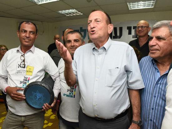 רון חולדאי היום בתל אביב/ צילום: רובי קסטרו - וואלה חדשות