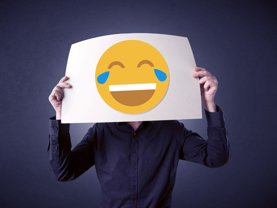 אימוג'י מחייך / צילום: shutterstock