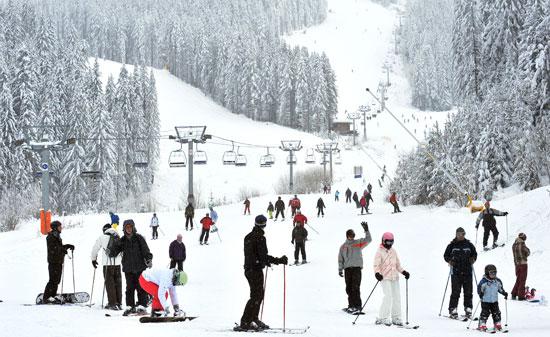 אתר סקי בבנסקו בולגריה / צילום: צילום: Shutterstock | א.ס.א.פ קריאייטיב