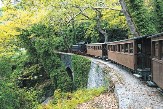 רכבת קיטור קטנה בת מאה/ צילום: Shutterstock | א.ס.א.פ קריאייטיב