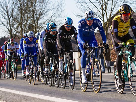 סייקלינג אקדמי במירוץ בבלגיה. בזמן המירוץ / צילום: שאטרסטוק