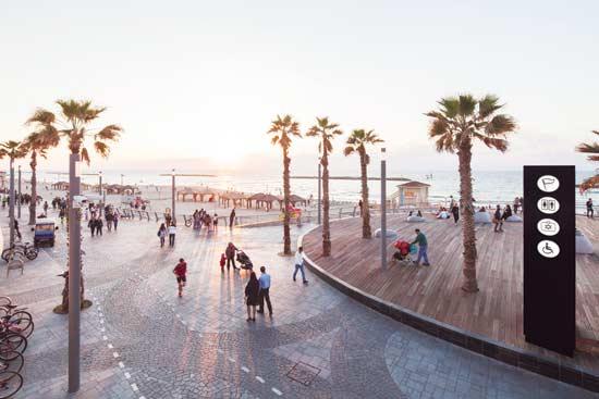 טיילת תל אביב / צילום: אביעד בר נס