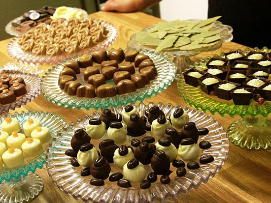 סדנת שוקולדים של גליה לוי / צילום: אורלי גנוסר