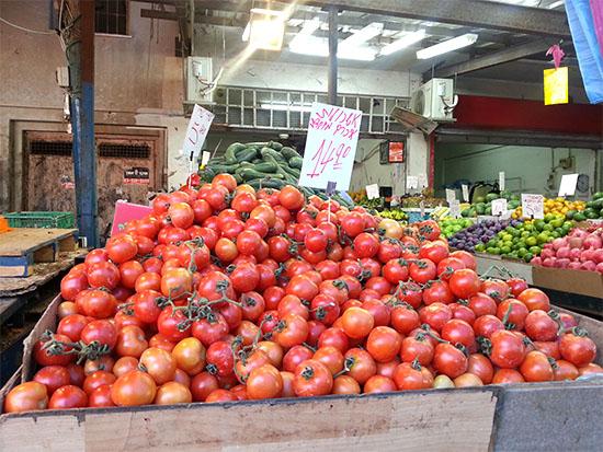 עגבניות במחירי שיא ב־2017 /  צילום: תמר מצפי