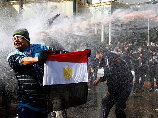 הפגנות במצרים ב־2011, תחילת האביב הערבי / צילום: רויטרס -Yannis Behrakis