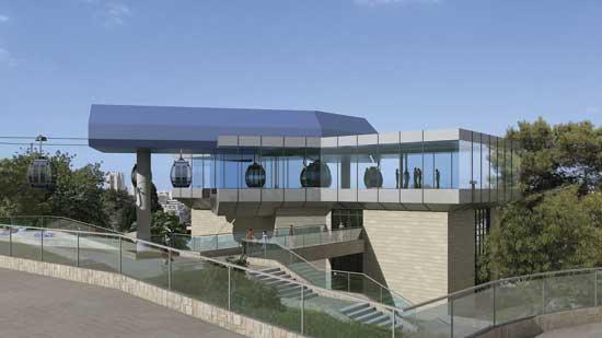 וניברסיטת חיפה מפלס עליון/ הדמיה: יפה נוף