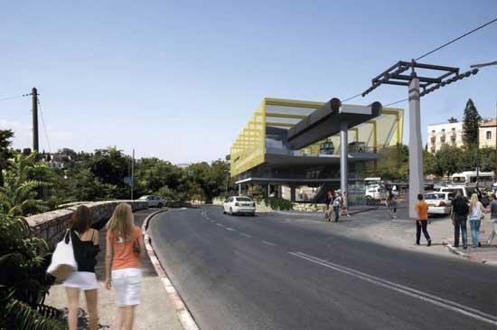 הרכבל בירושלים / הדמיה: משרד התיירות
