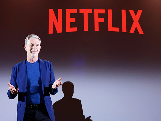 """ריד הסטינגס, מנכ""""ל נטפליקס / צילום: נטפליקס"""