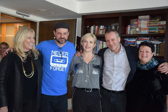 זיוה לוריא, גיל זלצמן, מיכל אקסלרוד, איתי הרמן ודפנה בסטר / צילום: ענבל וייס