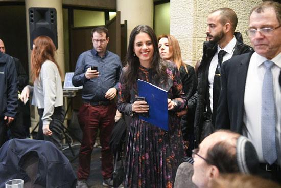 שרת המשפטים איילת שקד בכנס של לשכת עורכי הדין/ צילום : רפי קוץ