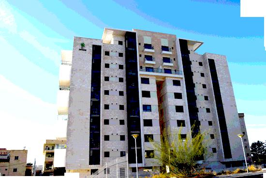 בנין רחוב יצחק רבין 11, קרית אתא, שכונת אברמסקי / צילום: בר אל