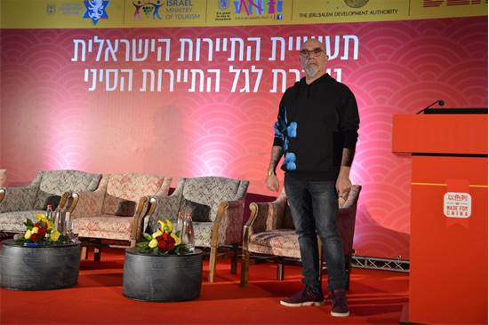 ישראל אהרוני, שף ומסעדן/צילום: תמר מצפי