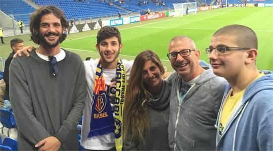 אלדד תמיר והמשפחה / צילום: תמונה פרטית
