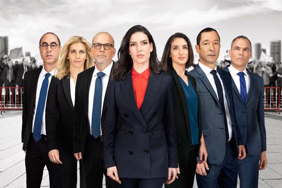 בחירות 2019 כאן - תאגיד השידור / צילום: משה נחמוביץ