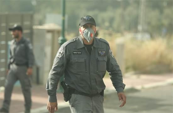 פינוי ישוב תרום / צילום: דוברות המשטרה