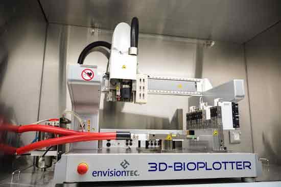 מדפסת תלת ממד להדפסות רקמות  /  צילום: ניצן זוהר, דוברות הטכניון